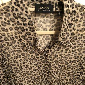 Dana Buckman silk big shirt